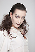 11-13 May 2009, West Thames College/Isleworth. 1st Year HND Make-up, Phantom of the Opera. Photo: Bettina Strenske.