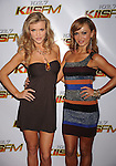 LOS ANGELES, CA. - December 05: Joanna Krupa and Karina Smirnoff arrives at the KIIS FM's Jingle Ball 2009 at the Nokia Theatre L.A. Live on December 5, 2009 in Los Angeles, California.