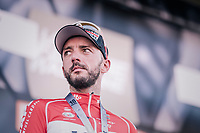 Jelle Vanendert (BEL/Lotto-Soudal) finished 3rd<br /> <br /> 82nd Fl&egrave;che Wallonne 2018 (1.UWT)<br /> 1 Day Race: Seraing - Huy (198km)