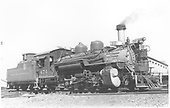 Left side view of K-28 #474 in Gunnison.<br /> D&amp;RGW  Gunnison, CO