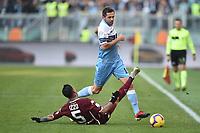 Send Lulic Lazio and Armando Izzo Torino competes for the ball.<br /> Roma 29-12-2018 Stadio Olimpico<br /> Football Calcio Campionato Serie A<br /> 2018/2019 <br /> Lazio - Torino<br /> Foto Antonietta Baldassarre / Insidefoto