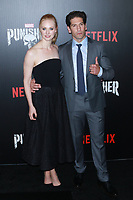 NEW YORK, NY - NOVEMBER 06: Deborah Ann Woll and Jon Bernthal at  'Marvel's The Punisher' New York premiere at AMC Loews 34th Street 14 theater on November 6, 2017 in New York City. <br /> CAP/MPI99<br /> &copy;MPI99/Capital Pictures