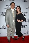 Producer Gabrielle Nadig (right) and guest arrive at the world premiere of Standing Up, Falling Down at the 2019 Tribeca Film Festival presented by AT&T Thursday, April 25, 2019 at SVA Theater - 333 West 23 Street New York, NY.