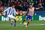 Atletico de Madrid´s Koke and Real Sociedad´s Diego Reyes during 2015-16 La Liga match between Atletico de Madrid and Real Sociedad at Vicente Calderon stadium in Madrid, Spain. March 01, 2016. (ALTERPHOTOS/Victor Blanco)