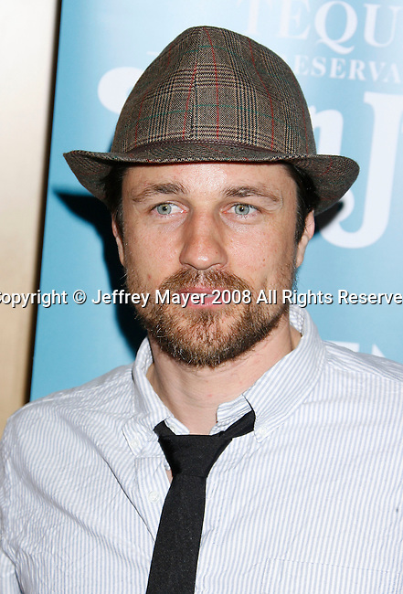 "BEVERLY HILLS, CA. - September 22: Actor Martin Henderson arrives at a special screening of ""Battle in Seattle"" held at the Clarity Theater on Monday September 22, 2008 in Beverly Hills, California."