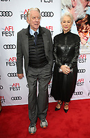 HOLLYWOOD, CA - NOVEMBER 12: Donald Sutherland, Helen Mirren, at The Leisure Seeker Special Screening During AFI Fest 2017 at the Egyptian Theatre in Hollywood, California on November 12, 2017. Credit: Faye Sadou/MediaPunch /NortePhoto.com