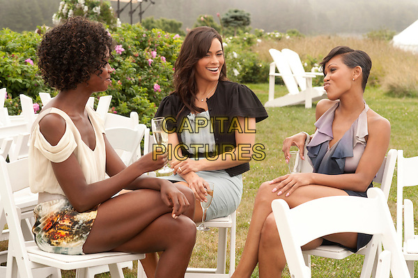TENIKA DAVIS, PAULA PATTON & MEAGAN GOOD.in Jumping the Broom.*Filmstill - Editorial Use Only*.CAP/FB.Supplied by Capital Pictures.