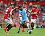 David Silva of Manchester City during the Premier League match at Old Trafford Stadium, Manchester. Picture date: September 10th, 2016. Pic Simon Bellis/Sportimage