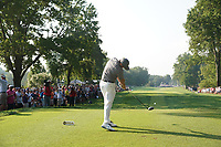 Rory McIlroy (NIR) tees off on the 15th hole during the second round of the 100th PGA Championship at Bellerive Country Club, St. Louis, Missouri, USA. 8/11/2018.<br /> Picture: Golffile.ie | Brian Spurlock<br /> <br /> All photo usage must carry mandatory copyright credit (© Golffile | Brian Spurlock)