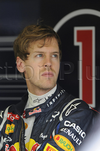 18.03.2012. Melbourne, Australia. Sebastian Vettel ger Red Bull Racing. GP Australia 2012 Formula 1 Grand Prix  Jenson Button won the race with Sebbastian Vettel in second and Lewis Hamilton in third place.