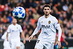 Cristiano Piccini of Valencia CF in action during the UEFA Champions League 2018-19 match between Valencia CF and Manchester United at Estadio de Mestalla on December 12 2018 in Valencia, Spain. Photo by Maria Jose Segovia Carmona / Power Sport Images