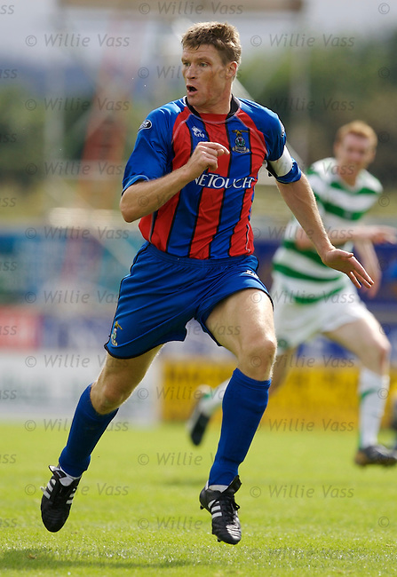 Darren Dods, Inverness Caledonian Thistle.stock season 2006-2007.pic willie vass