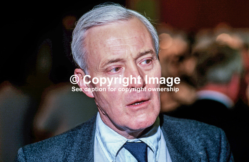 Tony Benn, MP, Labour Party, UK, 19870921TB.<br />