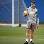 28.08.2019 Rangers training: Steven Gerrard