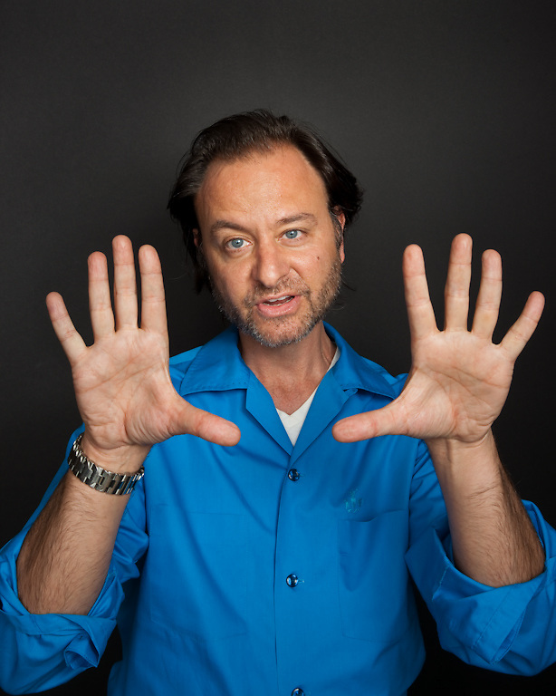 Director Fisher Stevens photographed for The Creative Coalition at Haven House in Beverly Hills, California on February 19, 2009