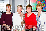 Mary Comerford, Joan Kenny, Helen Moylan and Julie Gleeson from Listowel Laundry for the Elderly at the Ring of Kerry Cycle cheque presentation in the Gleneagle Hotel on Friday night.