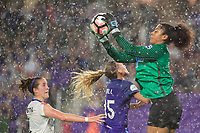 Orlando, FL - Saturday June 03, 2017: Amanda Da Costa, Rachel Hill, Abby Smith during a regular season National Women's Soccer League (NWSL) match between the Orlando Pride and the Boston Breakers at Orlando City Stadium.