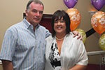 Olive Hanlon with her husband Shay at her suprise 50th birthday party in Harrys, Mell...Photo NEWSFILE/Jenny Matthews.(Photo credit should read Jenny Matthews/NEWSFILE)....This Picture has been sent you under the condtions enclosed by:.Newsfile Ltd..The Studio,.Millmount Abbey,.Drogheda,.Co Meath..Ireland..Tel: +353(0)41-9871240.Fax: +353(0)41-9871260.GSM: +353(0)86-2500958.email: pictures@newsfile.ie.www.newsfile.ie.FTP: 193.120.102.198.