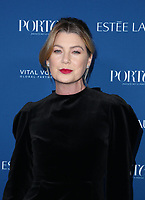 LOS ANGELES, CA - OCTOBER 9: Ellen Pompeo, at Porter's Third Annual Incredible Women Gala at The Ebell of Los Angeles in California on October 9, 2018. Credit: Faye Sadou/MediaPunch