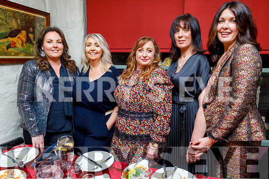 Enjoying the evening in Cassidys on Saturday.<br /> L to r: Michelle McElligott, Alice Sheehy, Cathy O'Connor, Gertrude Murphy and Tanya Moriarty.