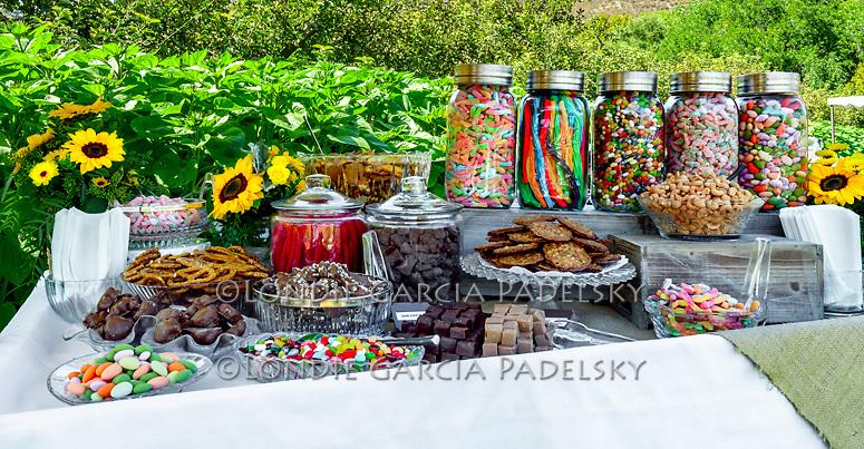 Wedding deserts at Avila Valley Barn