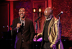 "Charles Randolph-Wright and BeBe Winans on stage during a Song preview performance of the BeBe Winans Broadway Bound Musical ""Born For This"" at Feinstein's 54 Below on November 5, 2018 in New York City."