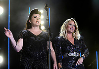 08 June 2019 - Nashville, Tennessee - Miranda Lambert, Angaleena Presley, Pistol Annies. 2019 CMA Music Fest Nightly Concert held at Nissan Stadium.   <br /> CAP/ADM/DMF<br /> ©DMF/ADM/Capital Pictures