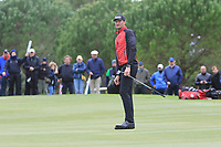 Sebastian Heisele (GER) on the 15th green during Round 4 of the Challenge Tour Grand Final 2019 at Club de Golf Alcanada, Port d'Alcúdia, Mallorca, Spain on Sunday 10th November 2019.<br /> Picture:  Thos Caffrey / Golffile<br /> <br /> All photo usage must carry mandatory copyright credit (© Golffile | Thos Caffrey)