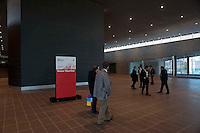 Roma 28 Novembre 2011.Inaugurata la nuova Stazione Tiburtina dell'alta velocità..L'interno