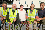 SCHEME: Farmers from the Killorglin area who are participating on the hugely successful Rural Social Scheme throughout South Kerry, l-r: Tom O'Sullivan (Killorglin), Joe Foley (Killorglin), Anne McCarthy (Milltown), Patrick Sweeney (Killorglin), John Doherty (Glencar).   Copyright Kerry's Eye 2008