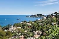 France, Provence-Alpes-Côte d'Azur, peninsula Cap Ferrat between Villefranche-sur-Mer and Beaulieu-sur-Mer | Frankreich, Provence-Alpes-Côte d'Azur, Halbinsel Cap Ferrat zwischen Villefranche-sur-Mer und Beaulieu-sur-Mer
