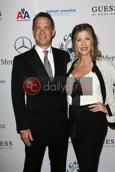 Tom Hanks and Rita Wilson<br />