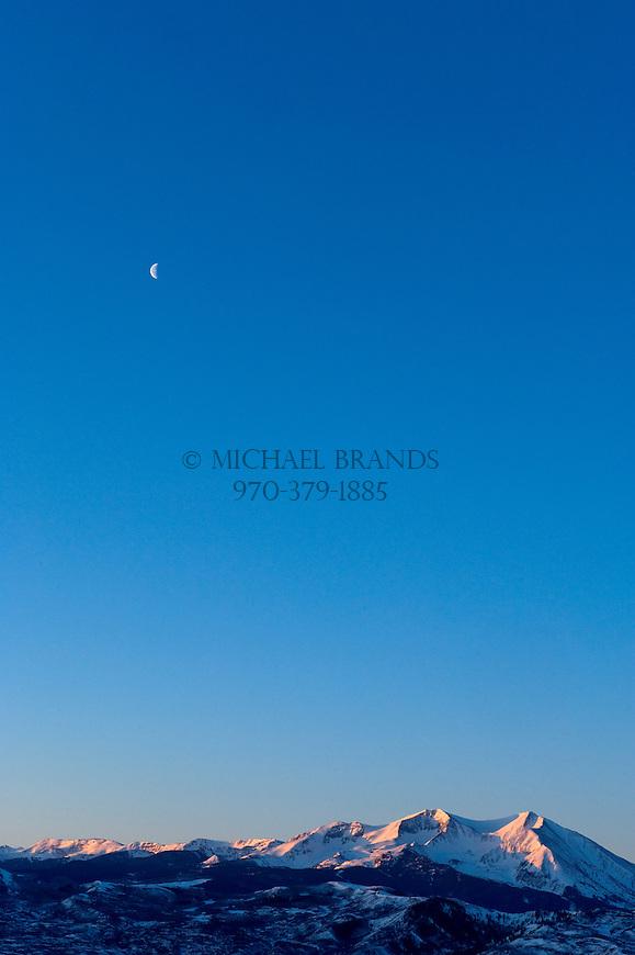 Mount Sopris. Carbondale, CO. © Michael Brands, 2008