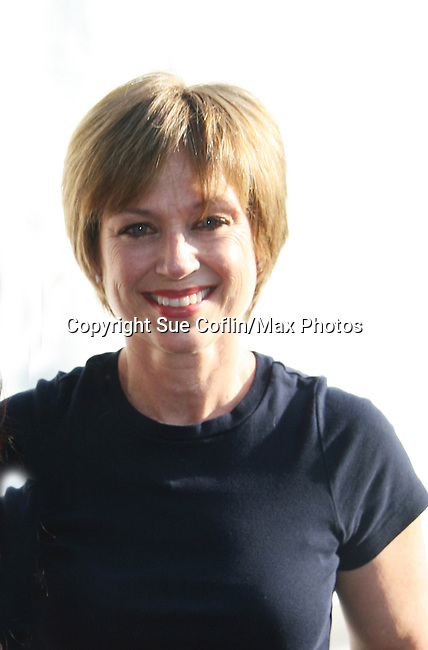 Dorothy Hamill at Skating with the Stars (celebrities & Olympic skaters), a benefit gala for Figure Skating in Harlem on April 6, 2010 at Wollman Rink, Central Park, New York City, New York. (Photo by Sue Coflin/Max Photos)