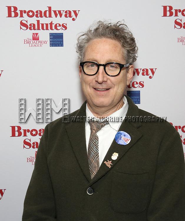 Bernard Telsey attends The Broadway League and the Coalition of Broadway Unions and Guilds (COBUG) presents the 9th Annual Broadway Salutes at Sardi's on November , 2017 in New York City.
