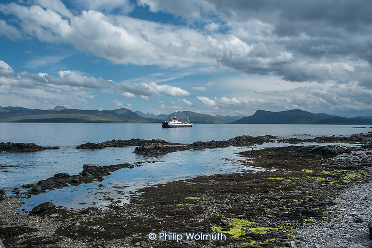 Caledonian MacBrayne Skye ferry, Mallaig to Kyle of Lochalsh