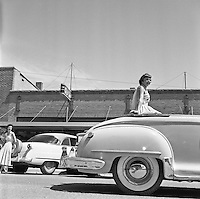 1954 Beauty Pageant Parade and Hi Lo Float