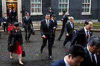 Liu Xiaoming (People's Republic of China Ambassador in the UK).<br />