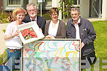 ARTISTS; Launching the Art exhibition at Suaimhneas Centre/Palliative Care Unit on Tuesday in aid of the Kerry Hospice Foundation. l-r: Tricia Healy (artist), Michea?l O Sulleabhain, Julie Beckett (artist) and Ted Moynihan(Kerry Hospice). .