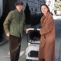 Woody Allen, Soon Yi, 1997 Photo By Michael Ferguson/PHOTOlink