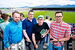 Ger Teahon (Killorglin) John Dunlea (Killorglin), Dominic Kissane (Ballybunion) and Trevor Dunlea (Milltown), pictured at the Kerry v Clare Munster semi-final at Fitzgerald Stadium, Killarney on Sunday last.