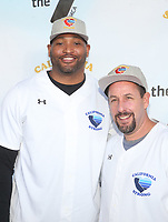 MALIBU, CA - JANUARY 12: Robert Horry, Adam Sandler, at the 2nd Annual California Strong Celebrity Softball Game at Pepperdine University Baseball Field in Malibu, California on January 12, 2020. <br /> CAP/MPIFS<br /> ©MPIFS/Capital Pictures