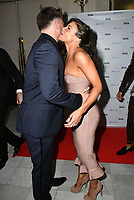 Duncan James, Faye Brookes at the DIVA Magazine Awards - Lesbian and bisexual magazine hosts annual awards ceremony at Waldorf Hilton, London, 8th June 2018, England, UK.<br /> CAP/JOR<br /> &copy;JOR/Capital Pictures