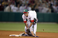 Jorge Cantu of Mexico during the World Baseball Championships at Angel Stadium in Anaheim,California on March 16, 2006. Photo by Larry Goren/Four Seam Images