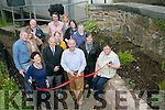 Trainees from KETB donated a wall to the Millennium Park Castlemorris to accommodate the wildflowers  and  transported by workers from Tralee Municiple District Pictured Donal Corcoran  officially opened the Wild Flower Gardens on Tuesday