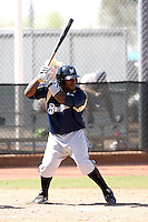 Angel Salome, Milwaukee Brewers 2010 minor league spring training..Photo by:  Bill Mitchell/Four Seam Images.