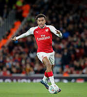 Alex Iwobi of Arsenal during the Carabao Cup match between Arsenal and Norwich City at the Emirates Stadium, London, England on 24 October 2017. Photo by Carlton Myrie.