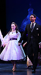 """Lauren Worsham and Michael Benjamin Washington during the Curtain Call for the closing Night performance of  Encores! """"Call Me Madam"""" at City Center on February 10, 2019 in New York City."""