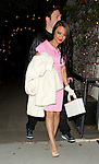 April 5th 2012...Tila Tequila leaving STK restaurant in Los Angeles fresh out of rehab wearing a pink dress...AbilityFilms@yahoo.com.805 427 3519 .www.AbilityFilms.com