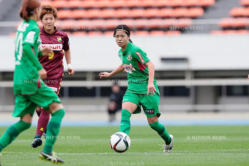 Yui Hasegawa (Beleza), <br /> OCTOBER 31, 2015 - Football / Soccer : <br /> Plenus Nadeshiko League 2015 <br /> between NTV Beleza 2-0 Jef Chiba Ladies <br /> at Komazawa Olympic Park Stadium, Tokyo, Japan. <br /> (Photo by AFLO SPORT)
